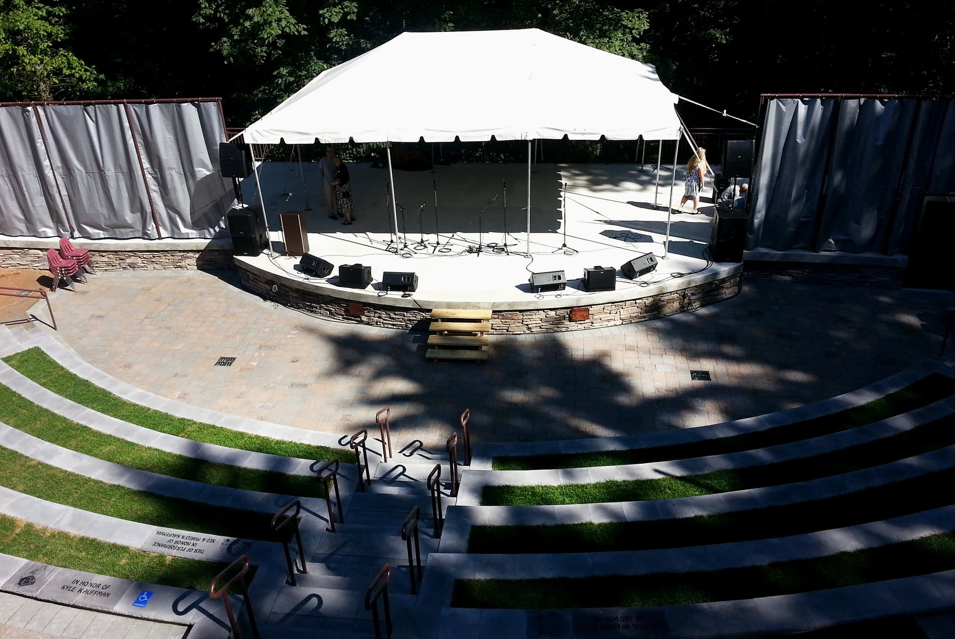 Ned Smith Center Ampitheater - Exterior 1