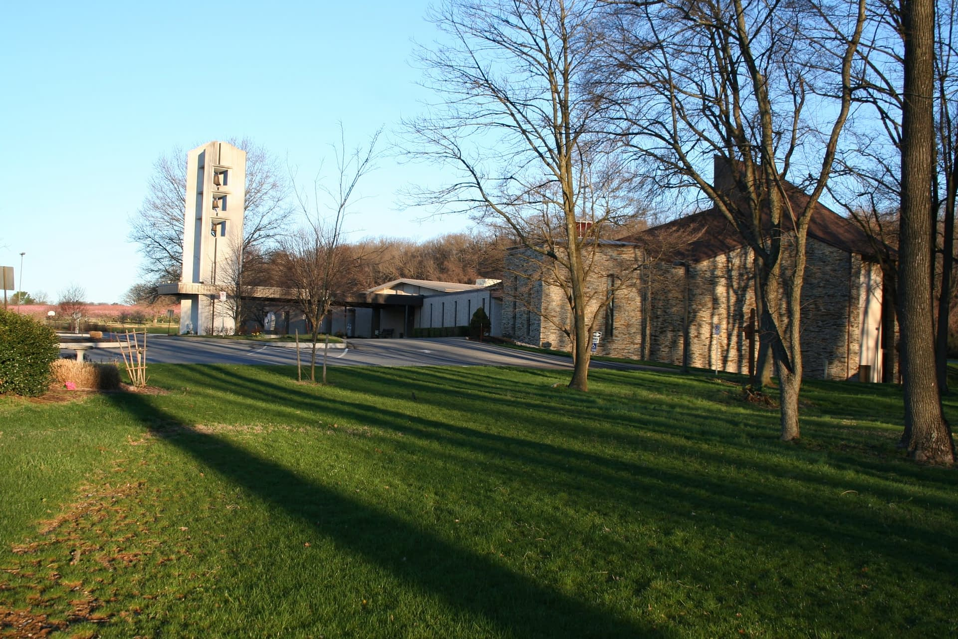 St John Neuman Blessed John XXIII school - Side shot