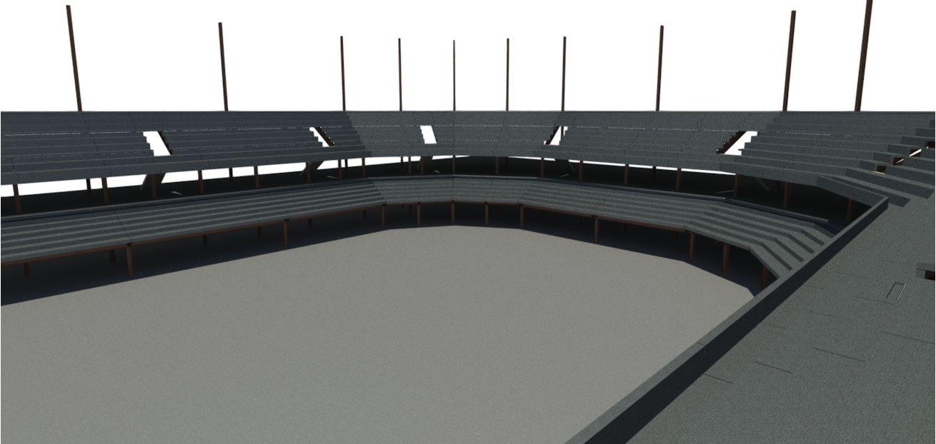 UMBC - Stadium Render 3