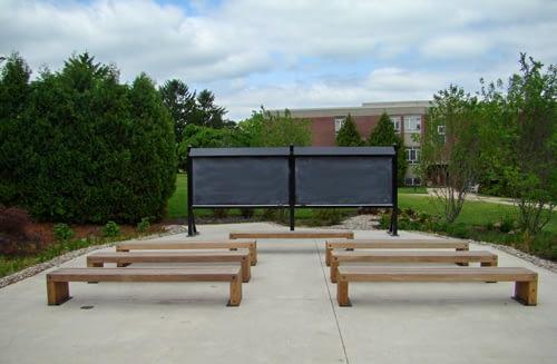Kutztown University Outdoor Classroom