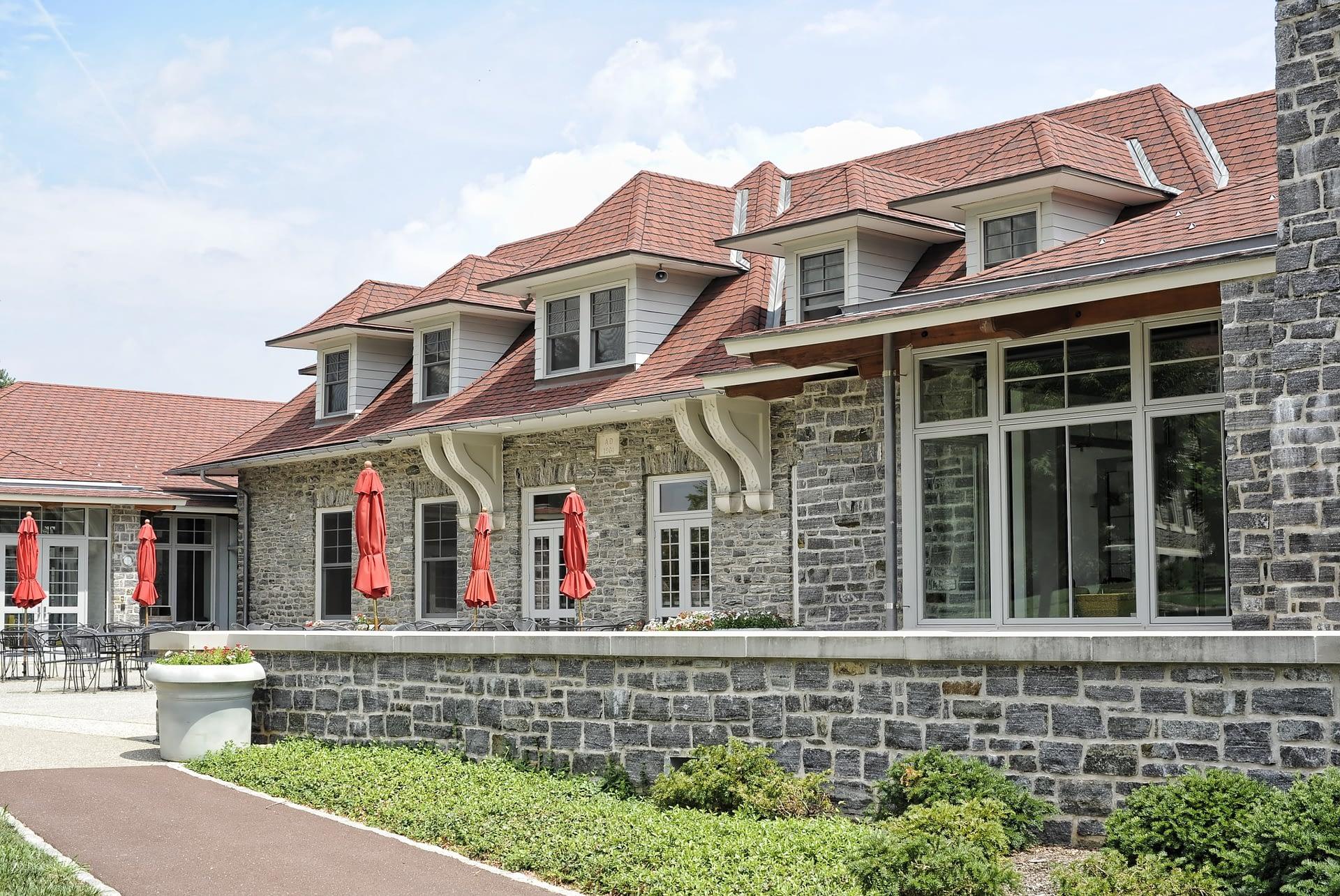 Bryn Athyn- Dining Hall Exterior
