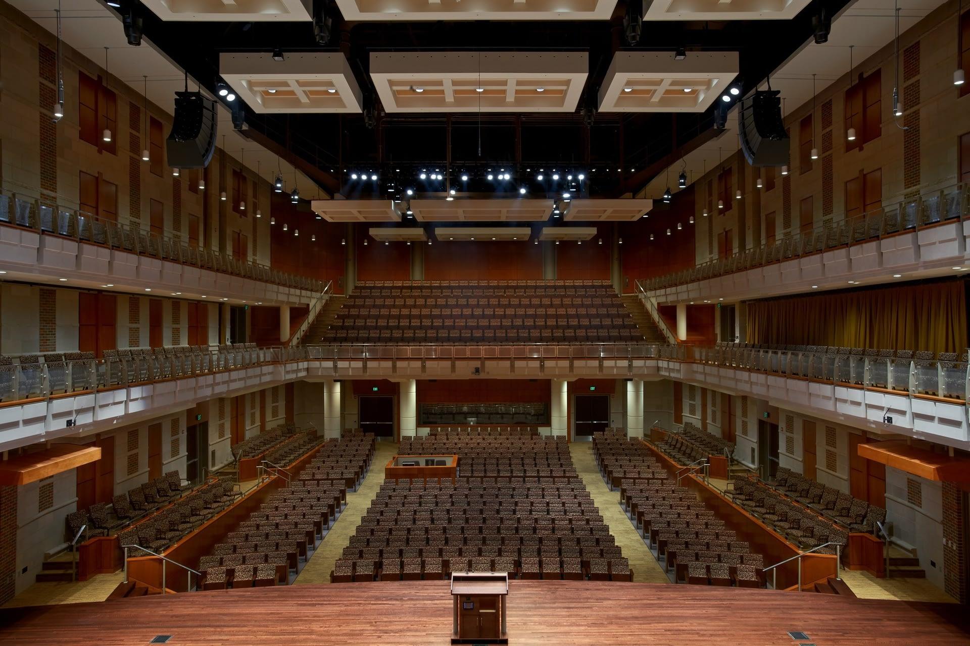 Messiah PA - Auditorium